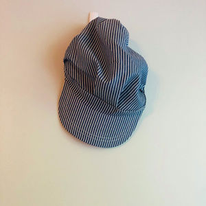 Engineer Stripe Train Conductor Hat